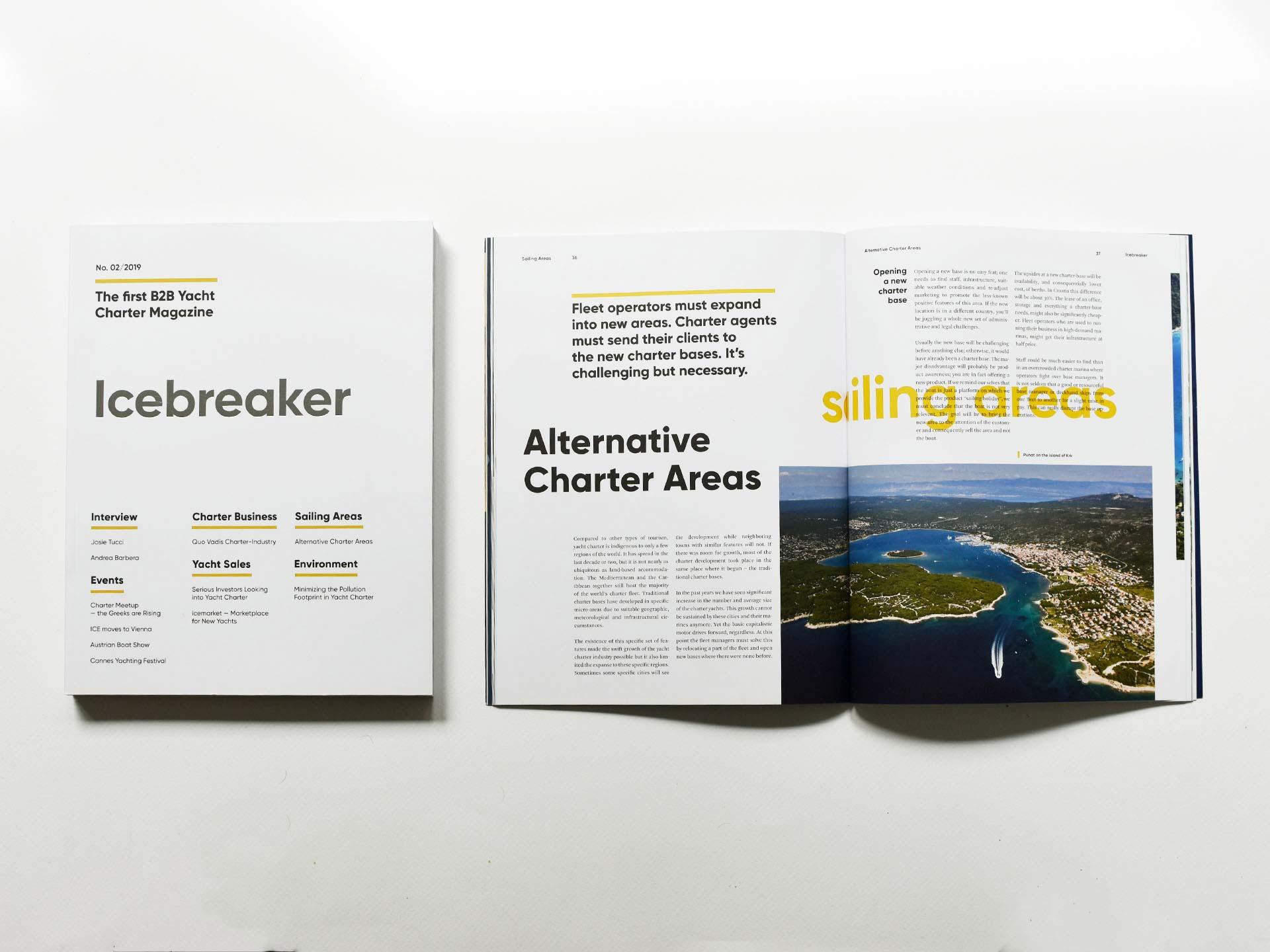 Icebreaker B2B Magazine